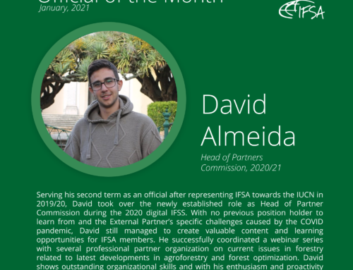 Official of the Month January 2021: David Almeida