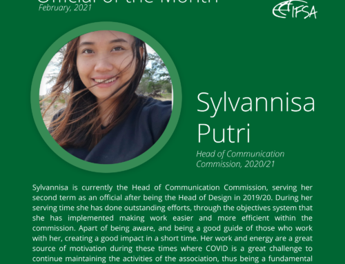 Official of the Month February 2021: Sylvannisa Putri