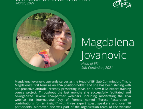 Official of the Month March 2021: Magdalena Jovanovic
