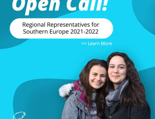 [Open Call] Regional Representative Pre-selection 2021-2022 Southern Europe