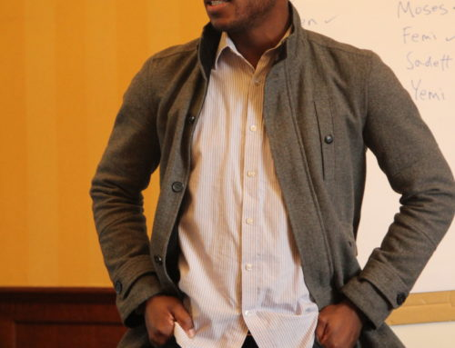 Meet the Dare to Explore! trainees – Opeyemi