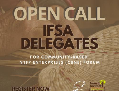 OPEN CALL for Delegates in Forest Harvest: Community-Based NTFP Enterprises Forum (CBNE Forum)