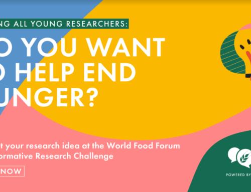WORLD FOOD FORUM  TRANSFORMATIVE RESEARCH CHALLENGE