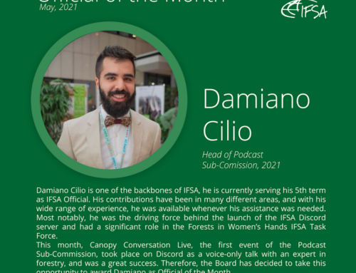 Official of the Month May 2021: Damiano Cilio