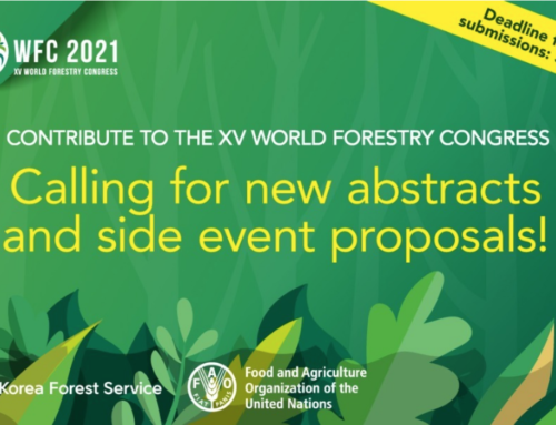 [Open Call] Abstract for the XV World Forestry Congress