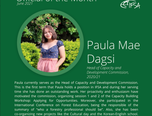 Official of the Month June 2021: Paula Mae Dagsi